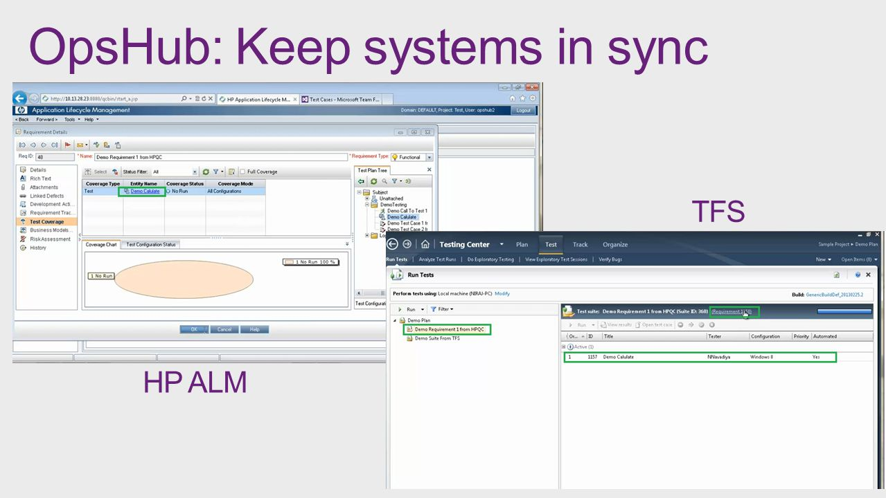 OpsHub: Keep systems in sync