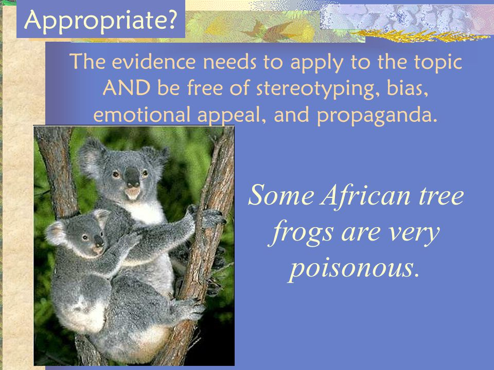 Some African tree frogs are very poisonous.