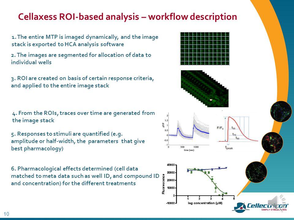 Cellaxess ROI-based analysis – workflow description