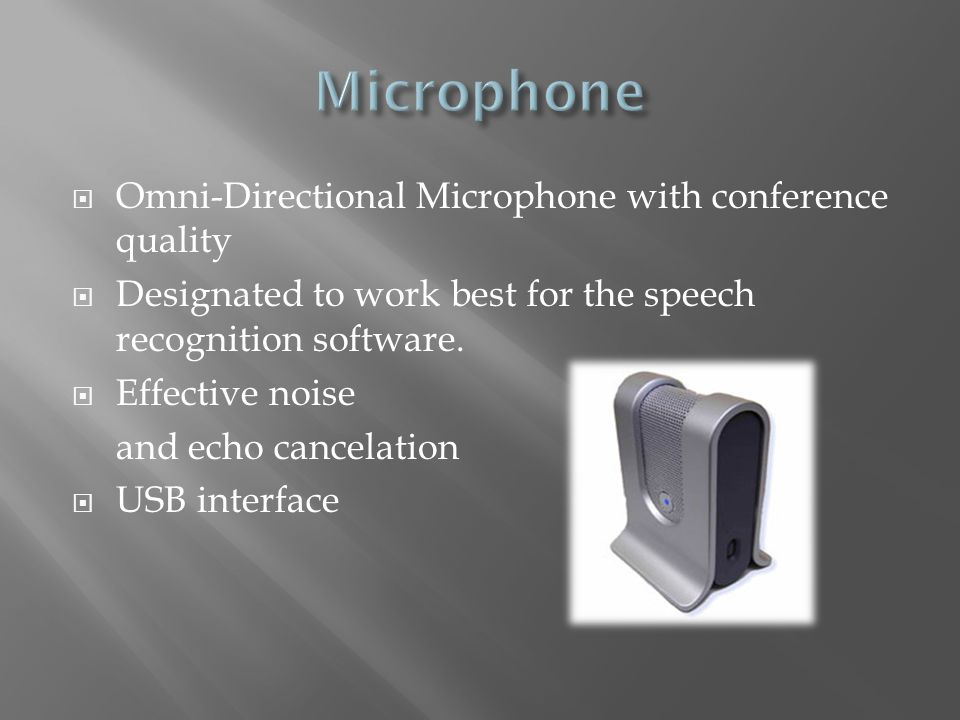 Microphone Omni-Directional Microphone with conference quality