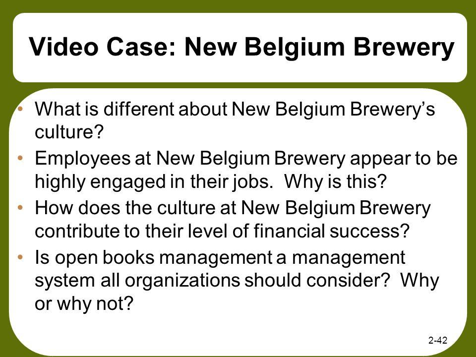 Video Case: New Belgium Brewery
