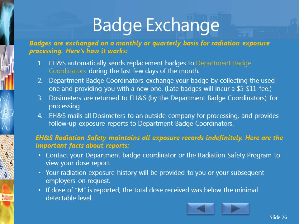 Badge Exchange Reporting……