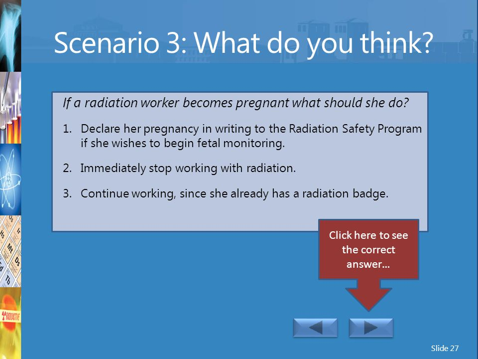 Scenario 3: What do you think