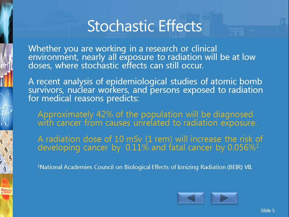 Stochastic Effects