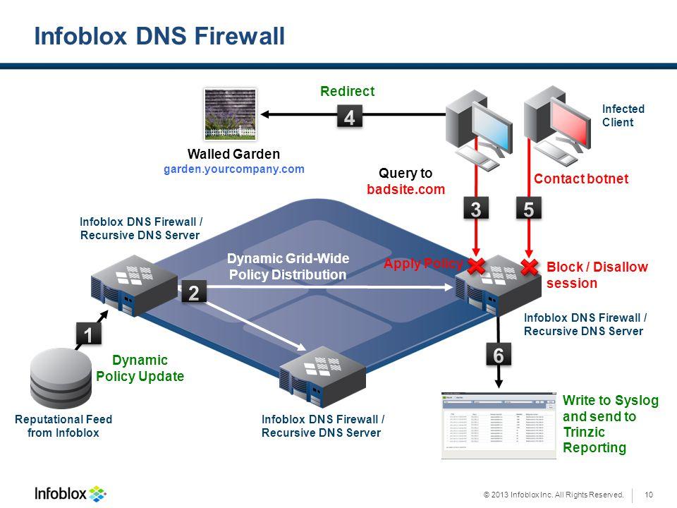 Infoblox DNS Firewall /