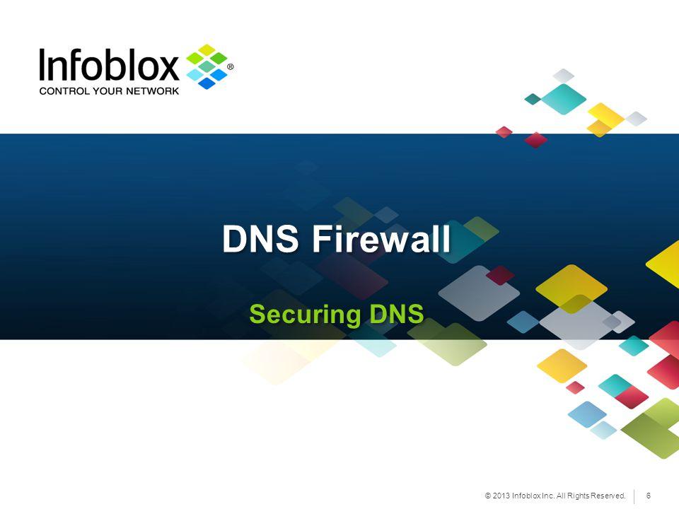 DNS Firewall Securing DNS