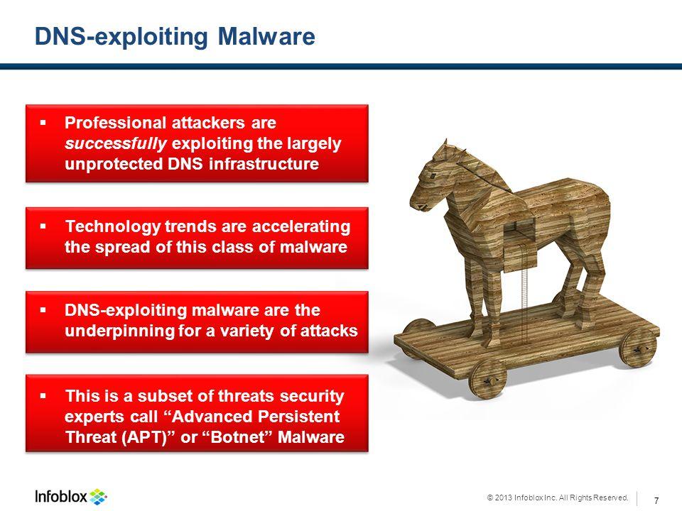 DNS-exploiting Malware