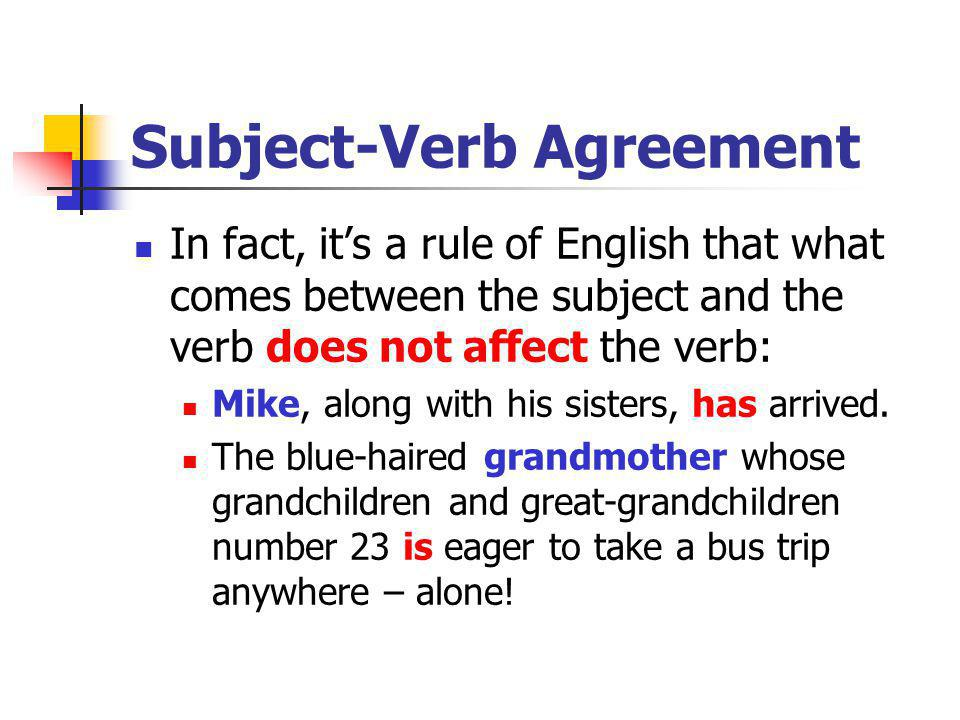 24 Rules On Subject Verb Agreement Research Paper Service