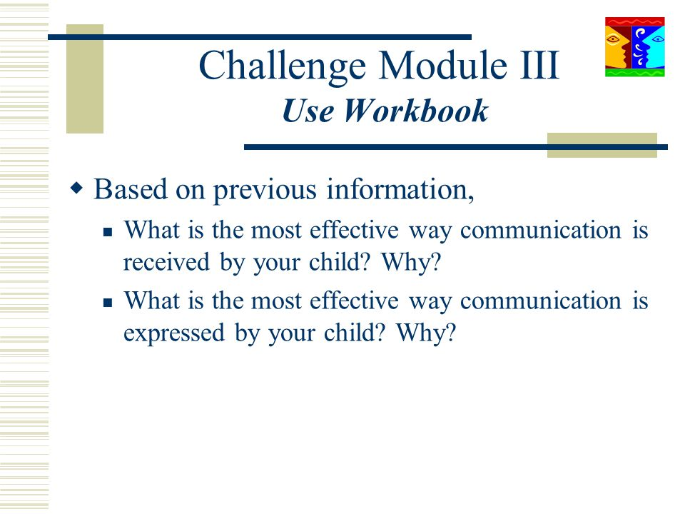 Challenge Module III Use Workbook