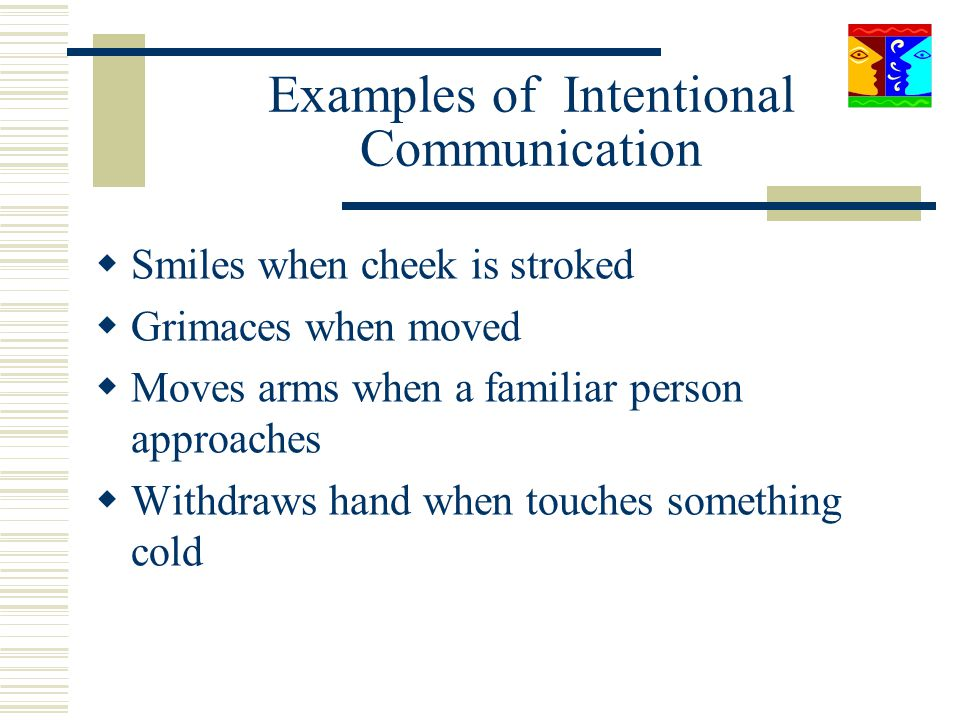 Examples of Intentional Communication