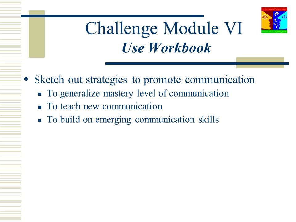 Challenge Module VI Use Workbook
