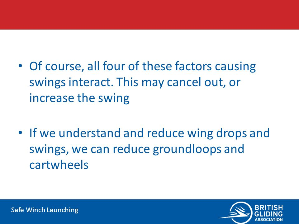 Of course, all four of these factors causing swings interact