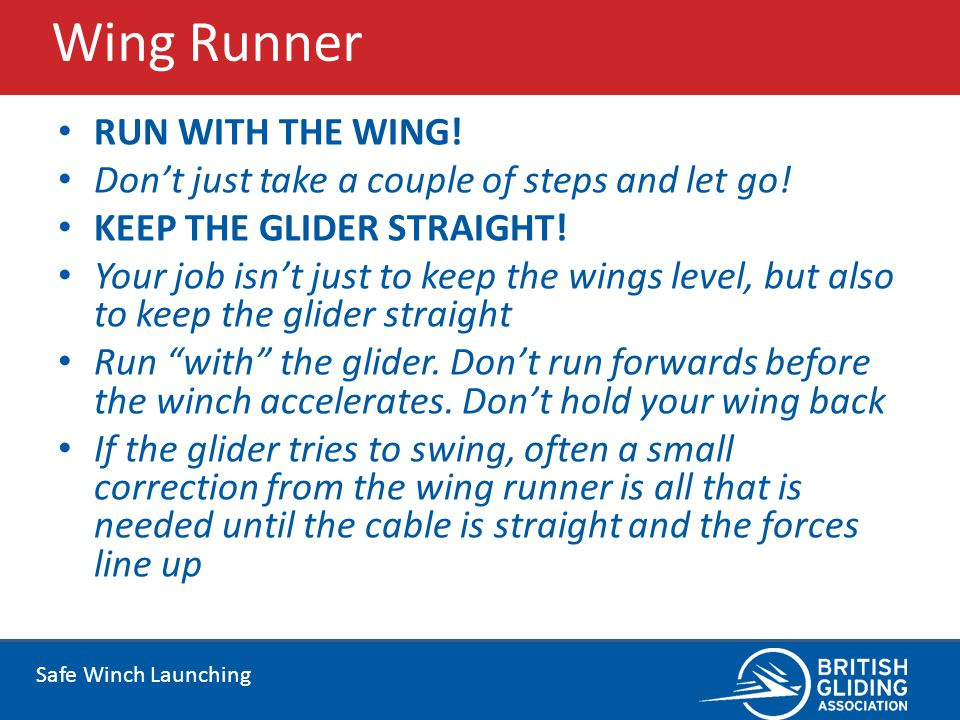 Wing Runner RUN WITH THE WING!