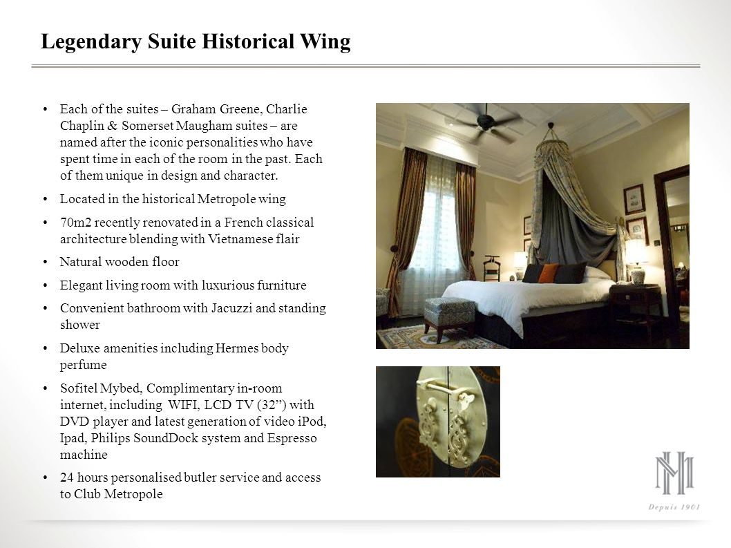 Legendary Suite Historical Wing