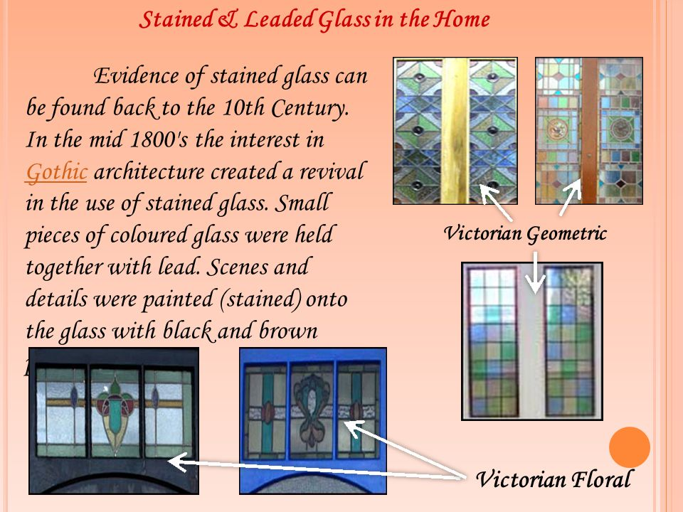 Stained & Leaded Glass in the Home