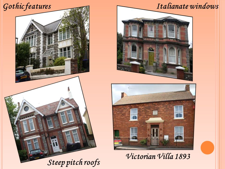 Gothic features Italianate windows Victorian Villa 1893 Steep pitch roofs