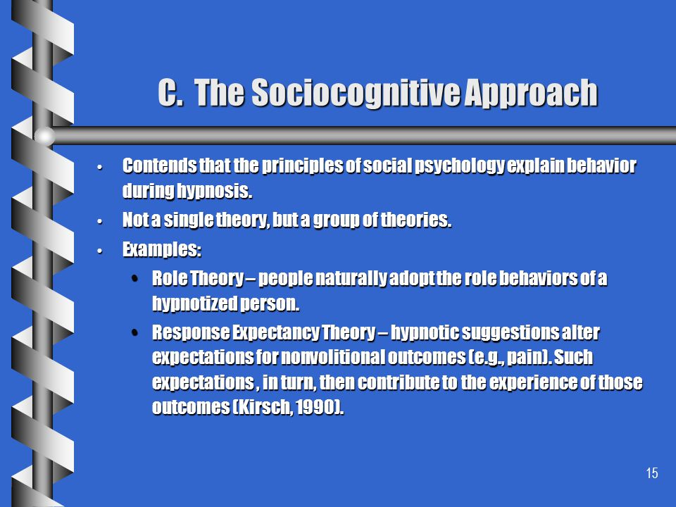 C. The Sociocognitive Approach