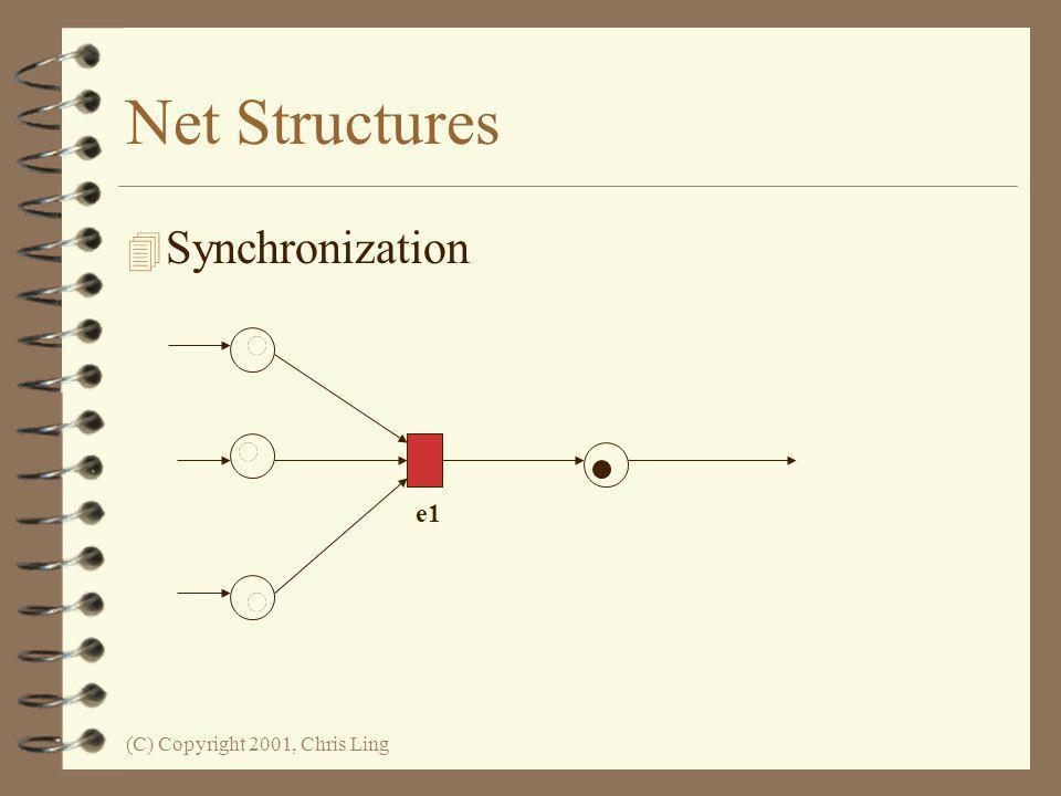 Net Structures Synchronization e1 (C) Copyright 2001, Chris Ling