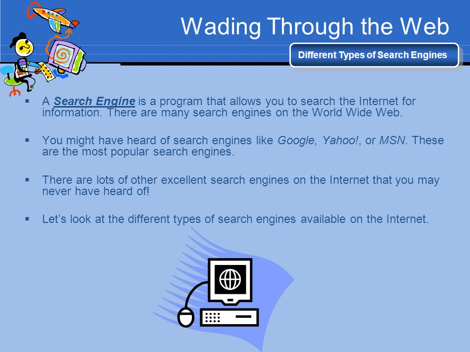 What Are Some Types of Search Engines? | Reference.com