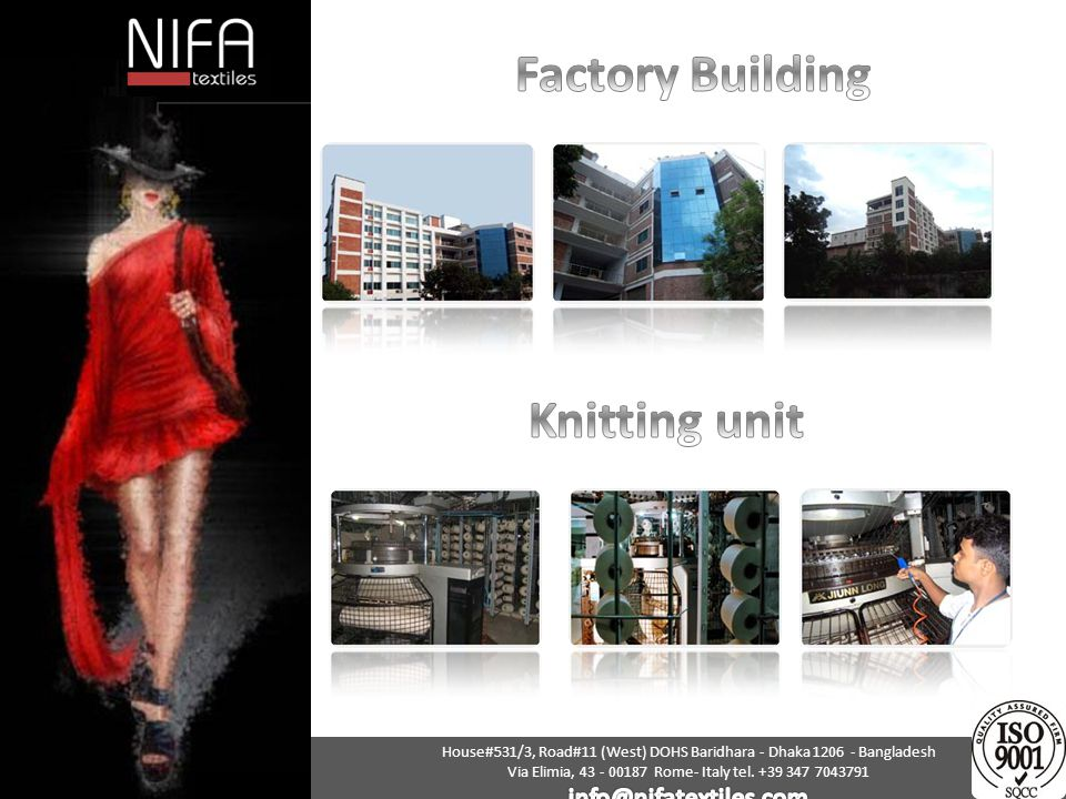 Factory Building Knitting unit