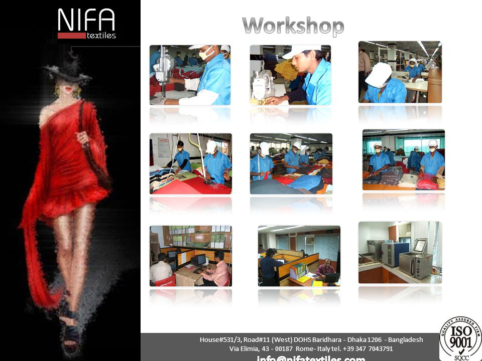 Workshop info@nifatextiles.com
