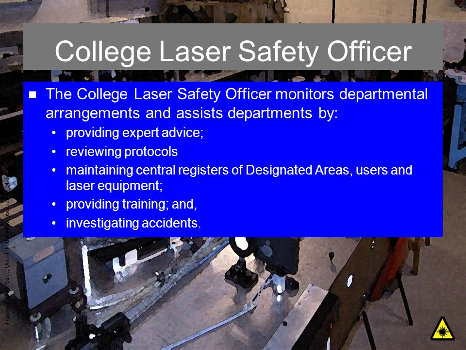 College Laser Safety Officer