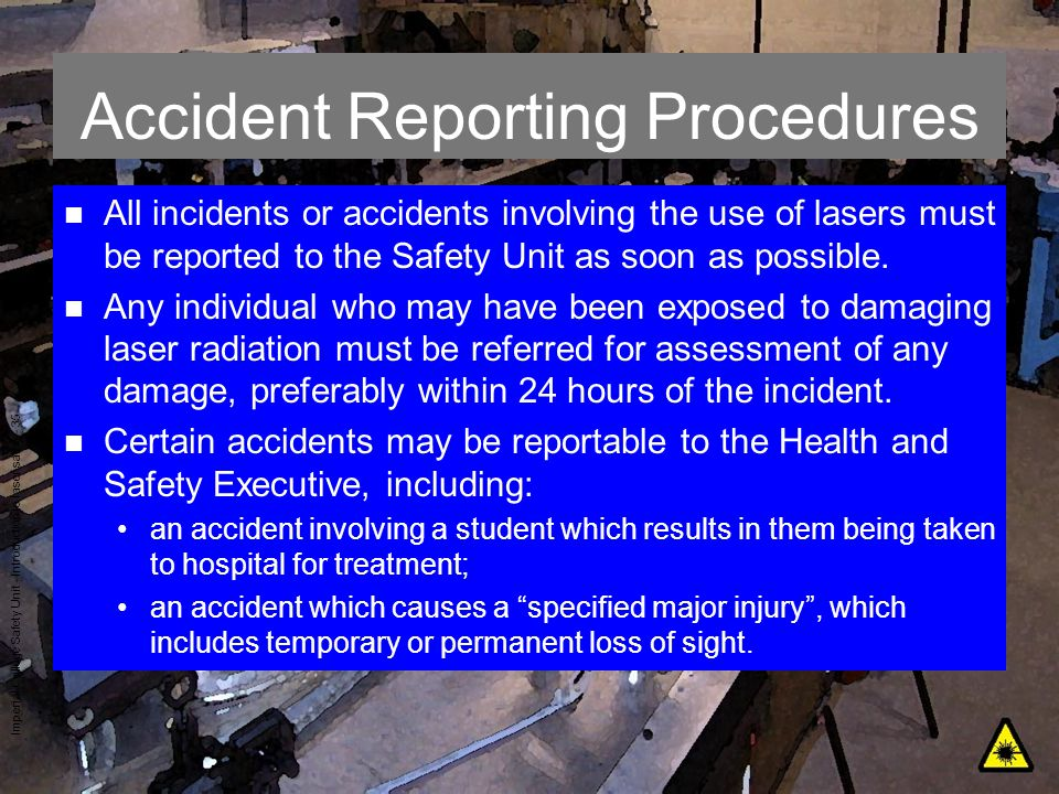 Accident Reporting Procedures