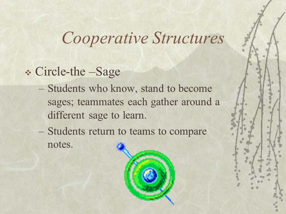 Cooperative Structures