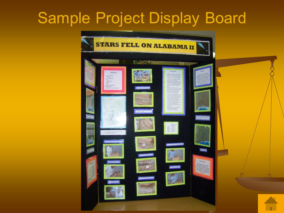Sample Project Display Board