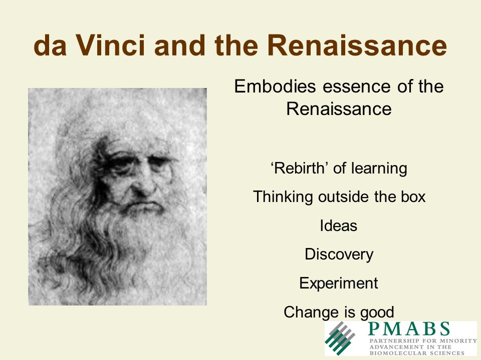 da Vinci and the Renaissance