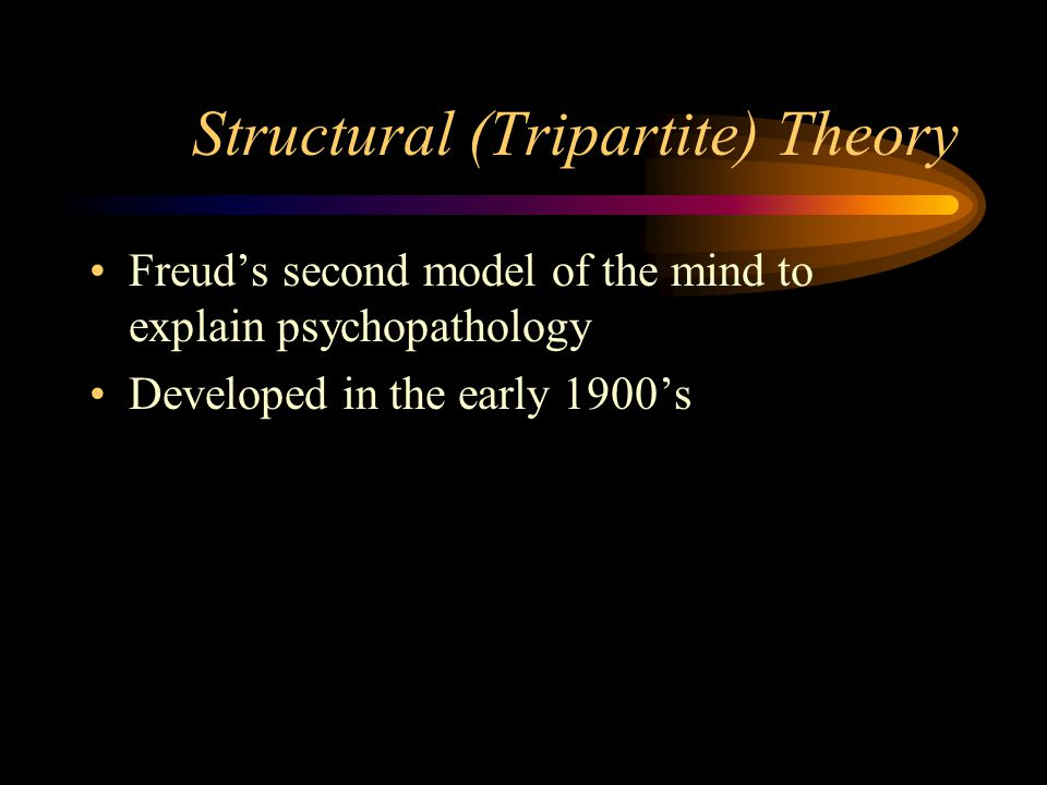 Structural (Tripartite) Theory