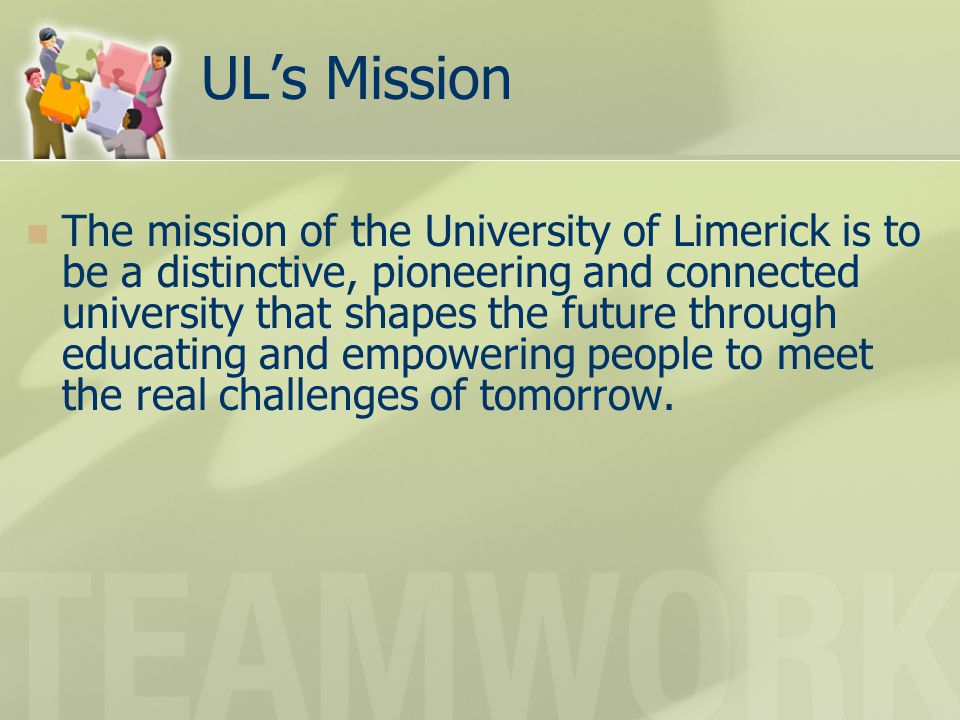 UL's Mission