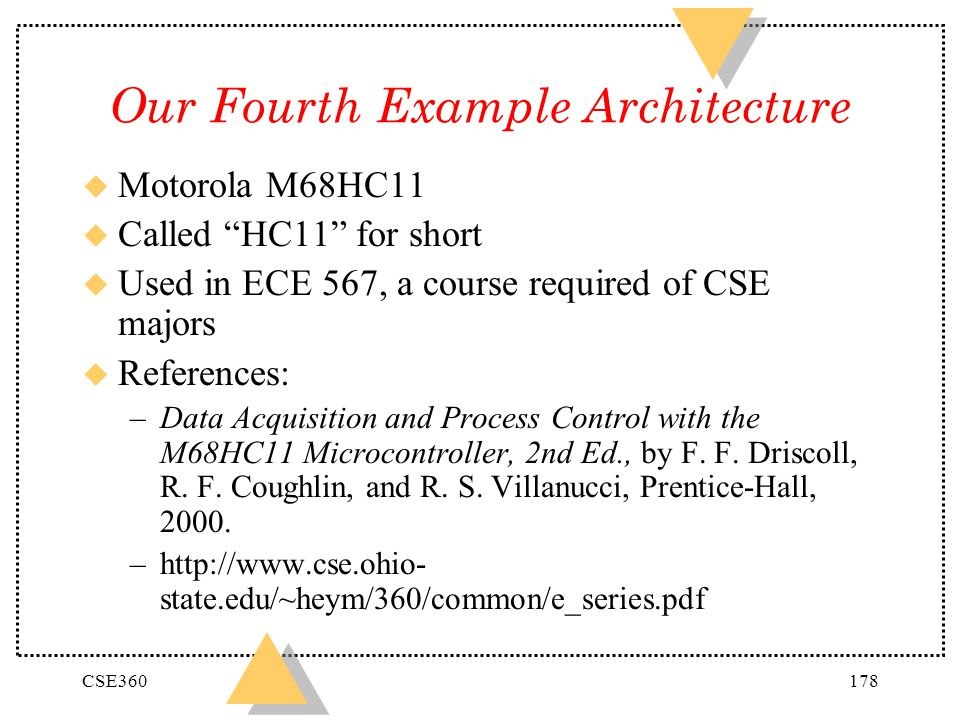 Our Fourth Example Architecture