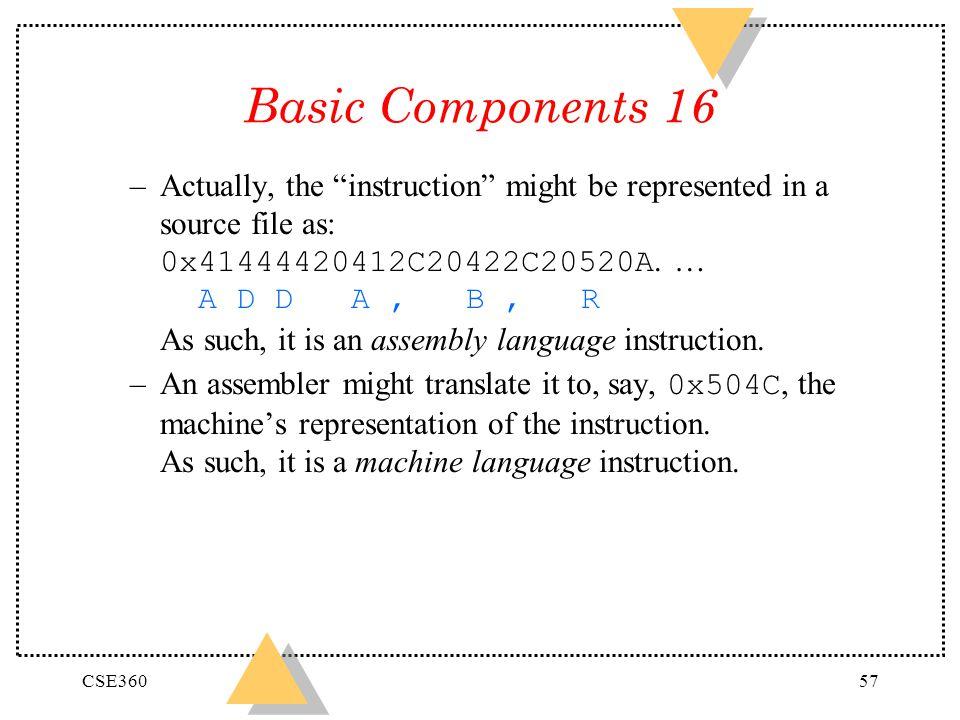 Basic Components 16