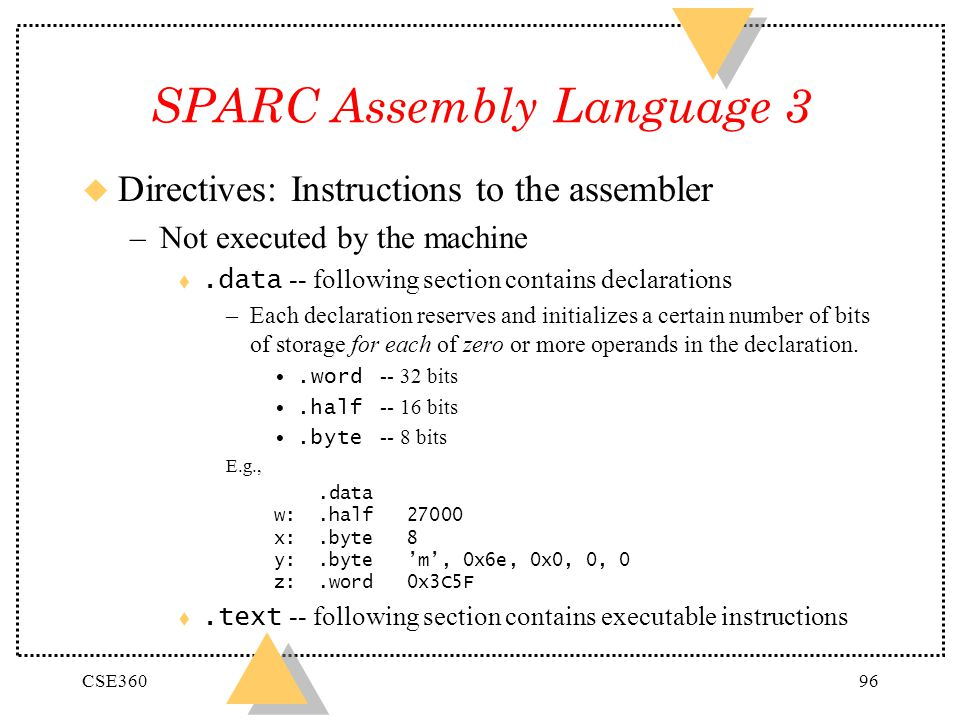 SPARC Assembly Language 3