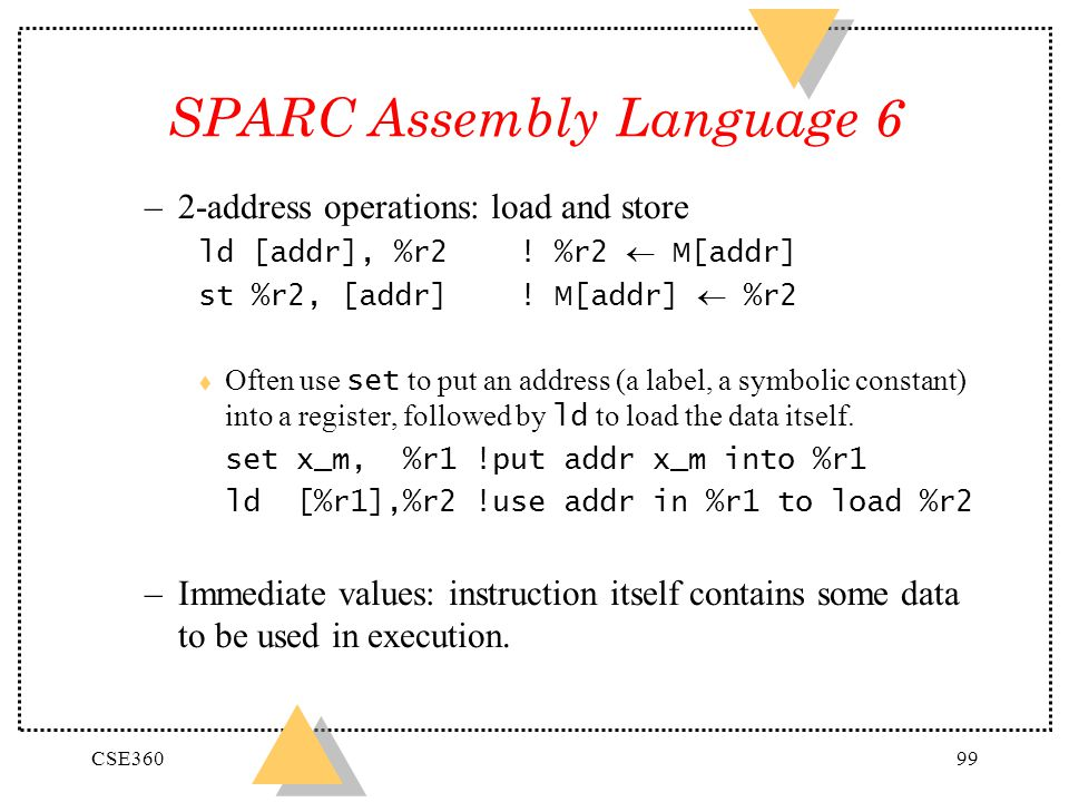 SPARC Assembly Language 6