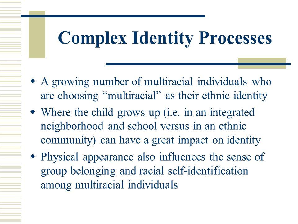 Complex Identity Processes