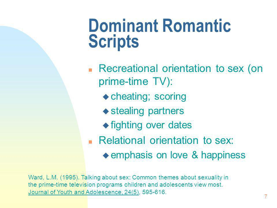Dominant Romantic Scripts