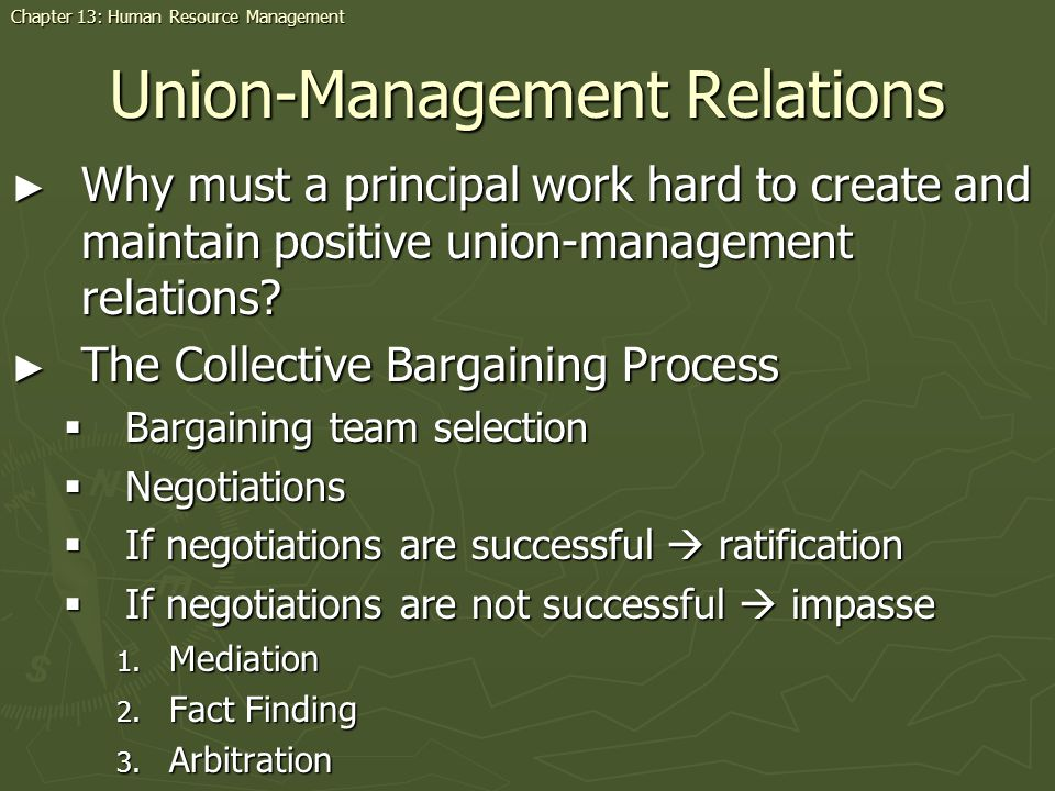 Union-Management Relations