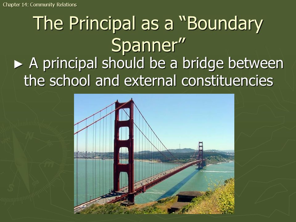 The Principal as a Boundary Spanner