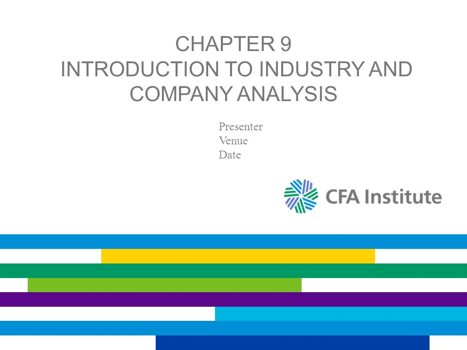Chapter  Introduction To Industry And Company Analysis  Ppt Download