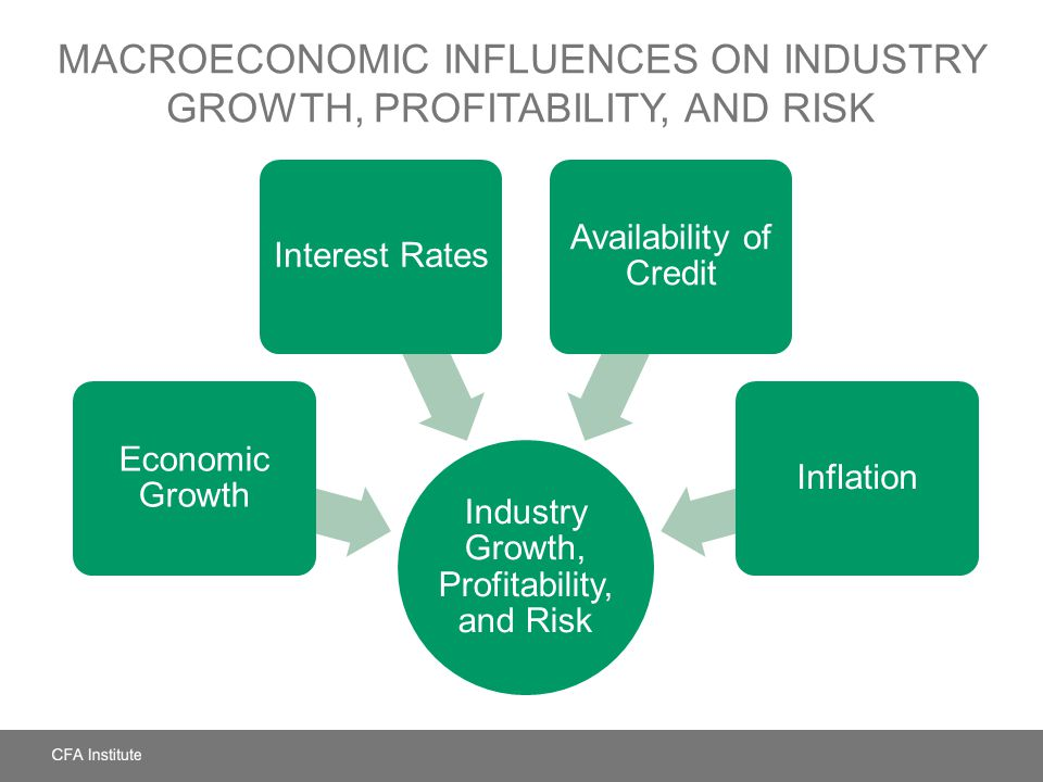 Macroeconomic Influences on Industry Growth, Profitability, and Risk