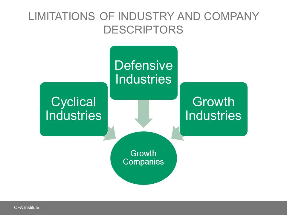 Limitations of Industry and Company Descriptors