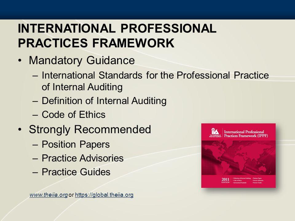 International Professional Practices Framework