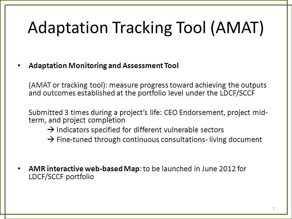 Adaptation Tracking Tool (AMAT)
