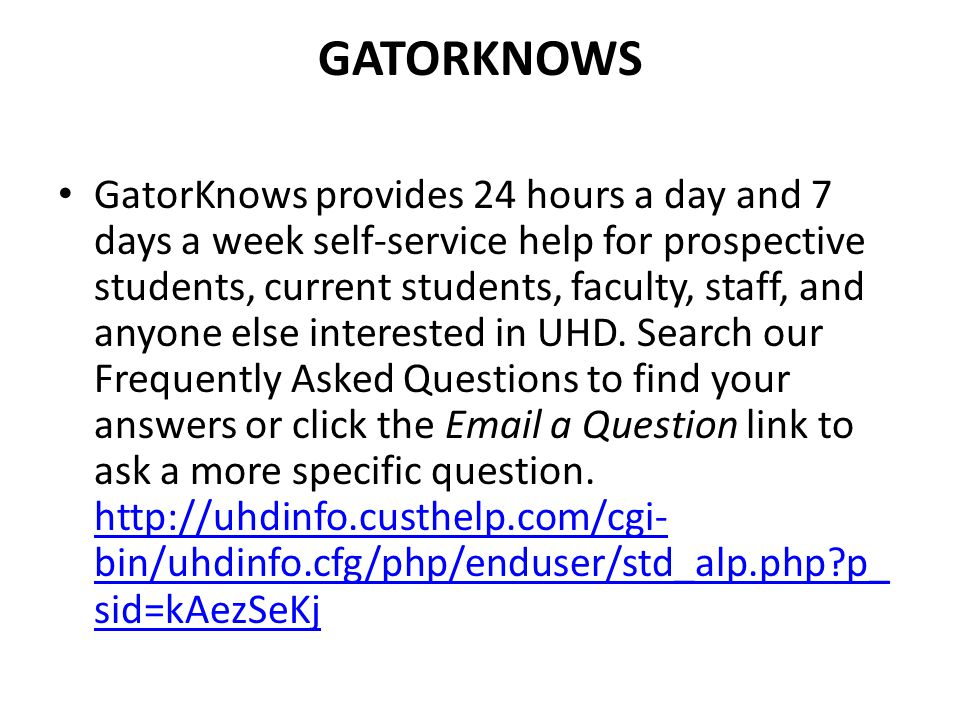 GatorKnows