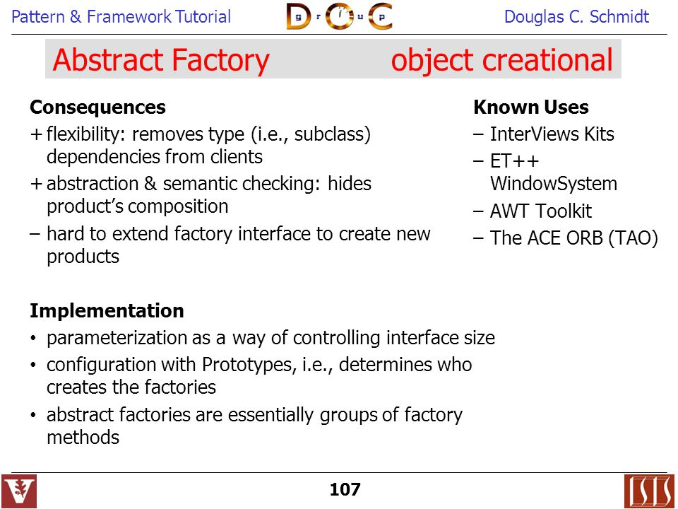 Abstract Factory object creational