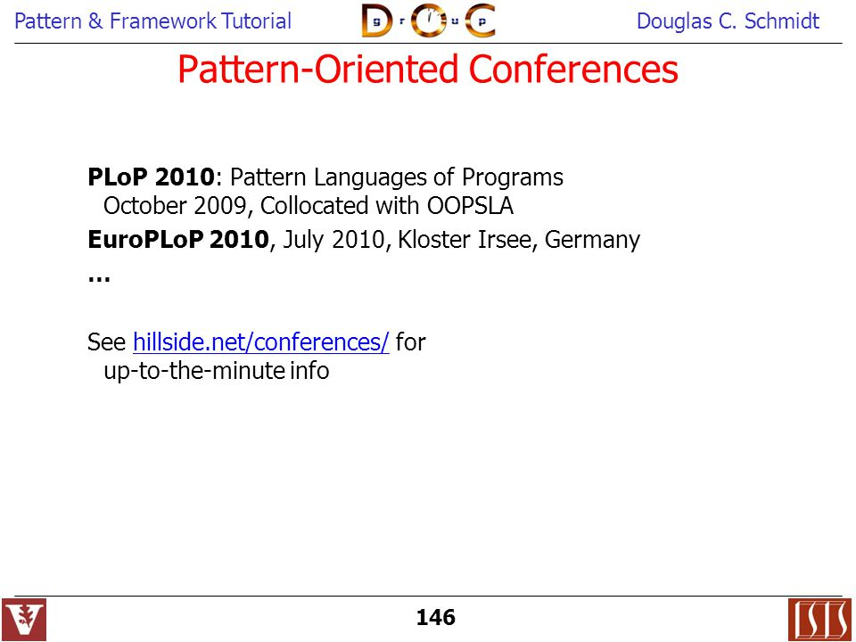 Pattern-Oriented Conferences