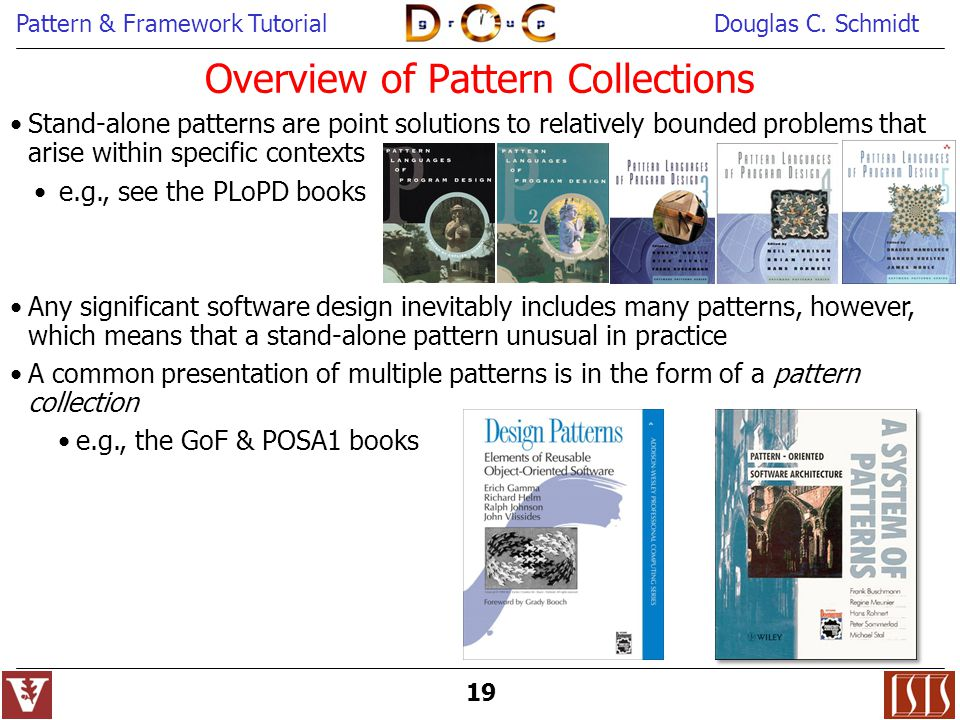 Overview of Pattern Collections