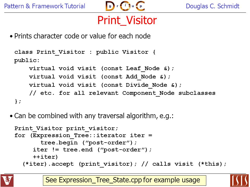 Print_Visitor Prints character code or value for each node